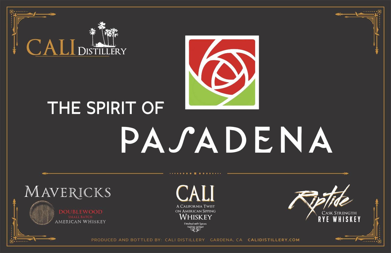 The Spirit of Pasadena - Whiskeys by Cali Distillery